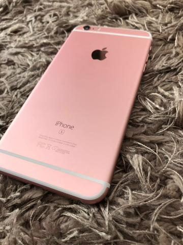IPHONE 6s PLUS 128gb OURO ROSA
