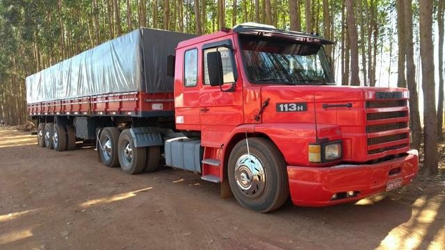 Scania 113 trucado + Carreta LS