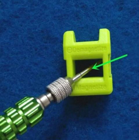 COD-FR4 Mini Magnetizador E Desmagnetizador Chave De Fenda Arduino Automação Robotica - Foto 3