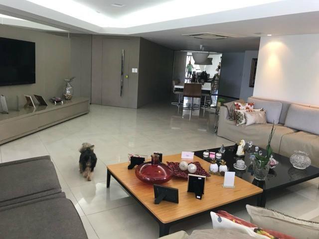 Apartamento Beira Mar 240m2 com 4 suítes na Ponta Verde - Foto 5