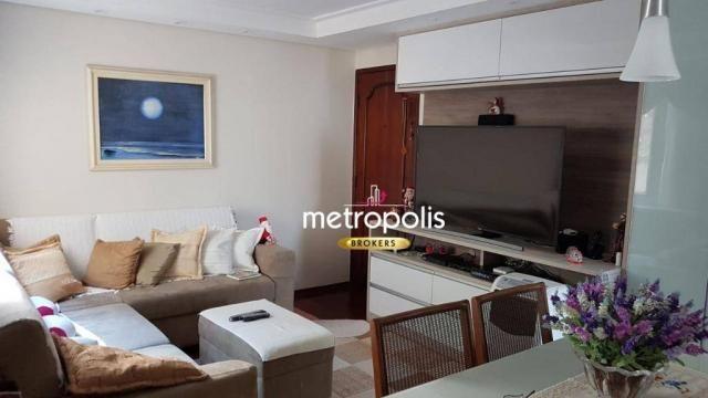 Apartamento com 2 dormitórios à venda, 58 m² por r$ 311.000 - são josé - são caetano do su