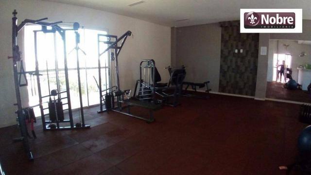 Apartamento com 3 dormitórios à venda, 71 m² por r$ 225.000,00 - plano diretor sul - palma - Foto 14