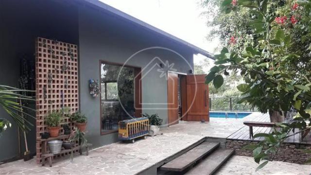 Casa à venda com 3 dormitórios em Santa teresa, Rio de janeiro cod:854715