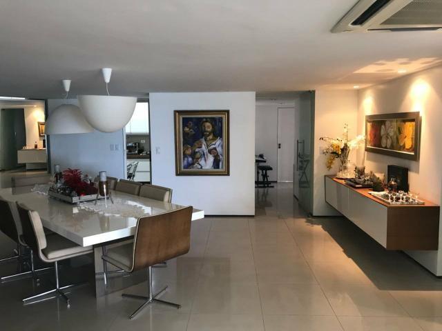 Apartamento Beira Mar 240m2 com 4 suítes na Ponta Verde - Foto 4