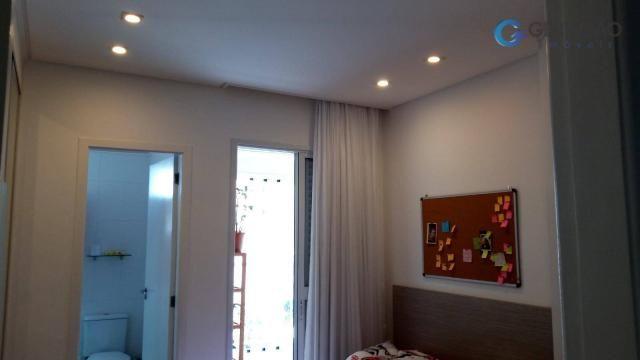 Apartamento com 4 dormitórios à venda, 131 m² por r$ 690.000 - jardim das indústrias - são - Foto 19
