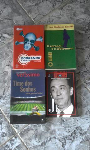 Livros vários tipos