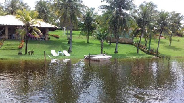 Casa na Lagoa do Uruaú, 17.500m² de área total, condomínio fechado, piscina - Foto 19