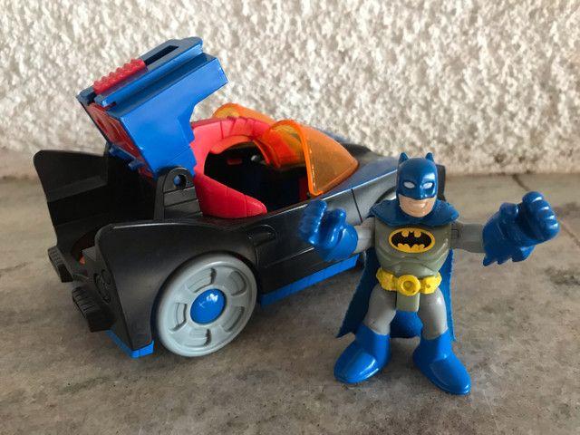 Batmóvel DC comics Batman Imaginext  - Foto 3