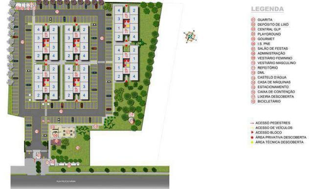 Parque Córdoba - Apartamento com ótima localização em Colombo, PR - ID3647 - Foto 3