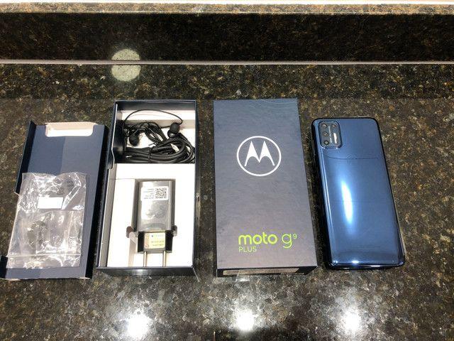 Moto G 9 PLUS 128gb/zero cx/Anatel/garantia 1 ano/Ac Trocas !!