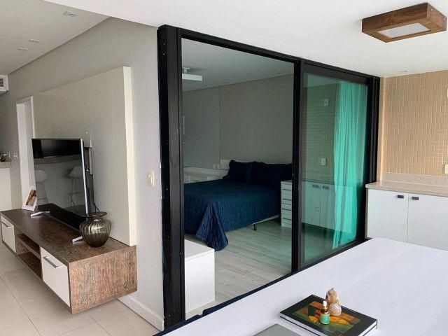 Apartamento Porto Trapiche 1 Quarto 94m2 Nascente Vista Mar Decorado Orla Contorno - Foto 5