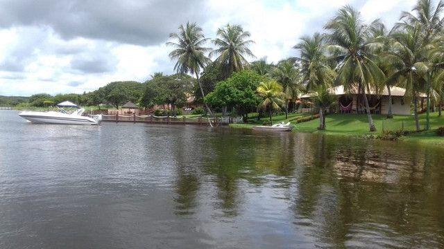 Casa na Lagoa do Uruaú, 17.500m² de área total, condomínio fechado, piscina - Foto 8