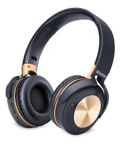 R$124,90 - Headphone Fone De Ouvido Exbom Hf-500bt Bluetooth Sem Fio - Foto 4