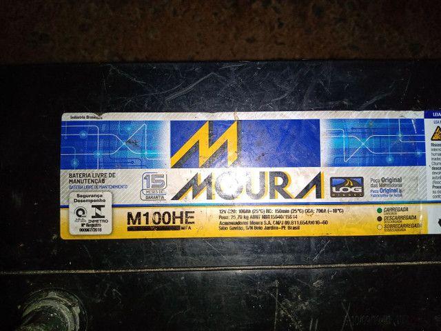 Bateria Moura na garantia - Foto 4