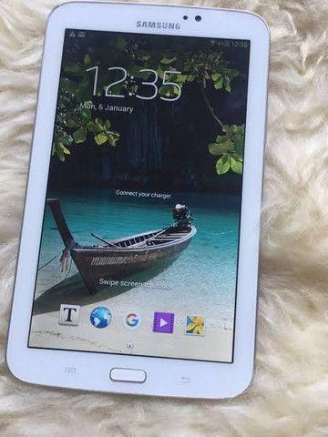Tablet Samsung Tab3 original AC troca - Foto 2