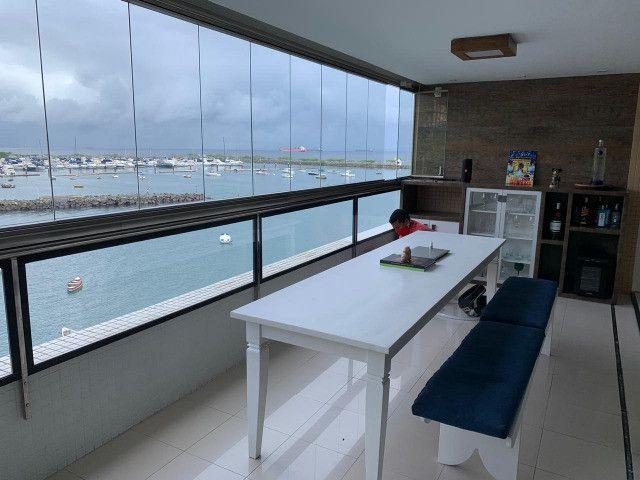 Apartamento Porto Trapiche 1 Quarto 94m2 Nascente Vista Mar Decorado Orla Contorno - Foto 2