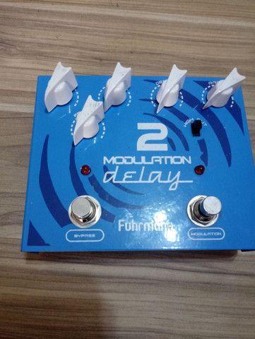 Pedal Guitarra Modulation Delay 2 Fuhrmann True Bypass - Foto 2