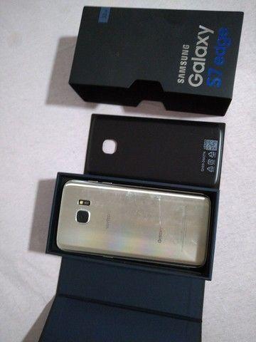 Samsung Galaxy S7 Edge 32 gb Prata - TELA QUEBRADA - Foto 4