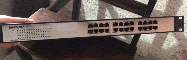 Switch 24 portas Intelbras