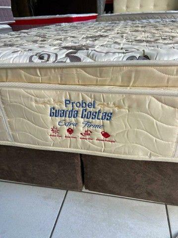 Probel cama queen size semi nova espuma - Foto 4