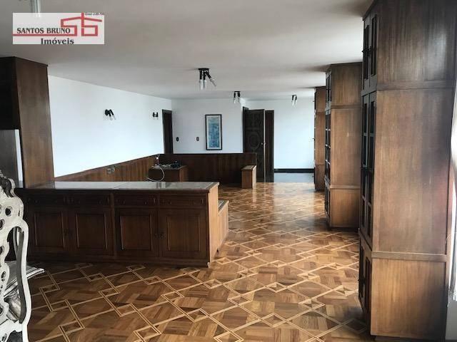 Cobertura 300 m² 4 dorm, sendo 1 empregada, 1 suíte, 3 salas, cozinha e 2 vagas para aluga - Foto 3