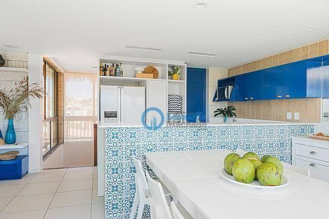 Apartamento com 4 dormitórios à venda, 176 m² por R$ 999.000 - Porto das Dunas - Aquiraz/C - Foto 7