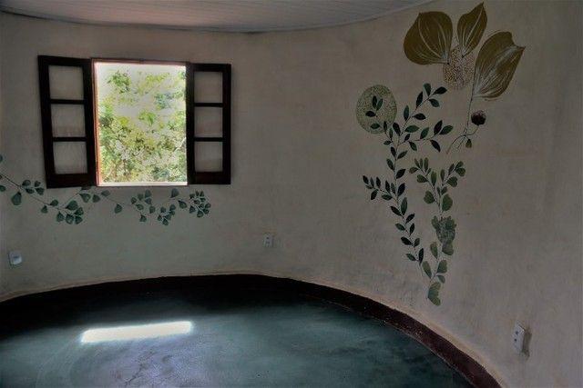 Vale do Capão Casa Artística 15 mil m2 com rio 2 quartos a menos de 1km da vila - Foto 11