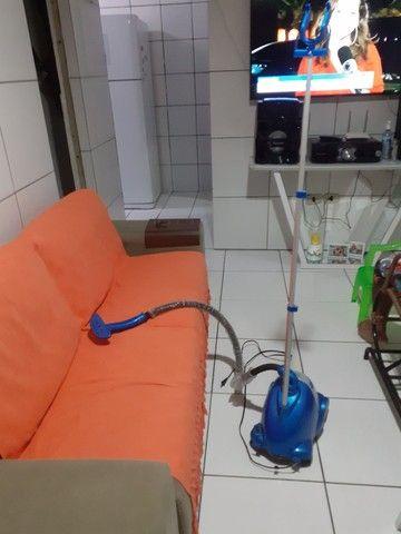 Vaporizador de roupas e cortina  - Foto 2