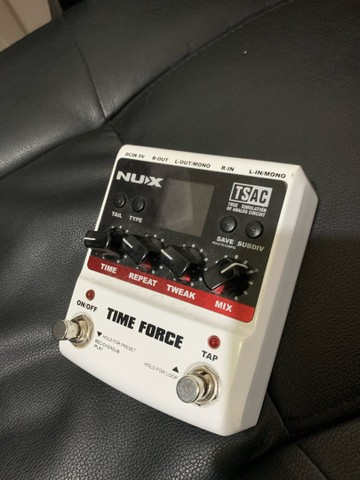 Pedal Delay Time Force Nux