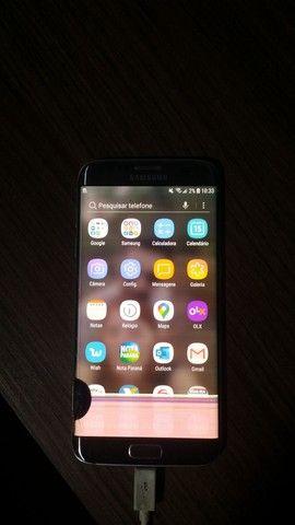 Samsung Galaxy S7 Edge 32 gb Prata - TELA QUEBRADA