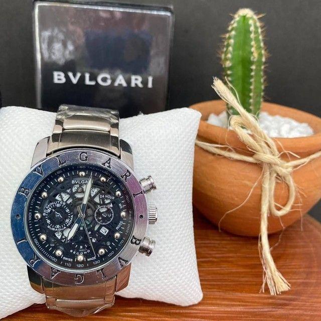 Relógio Bvlgari masculino - Foto 4