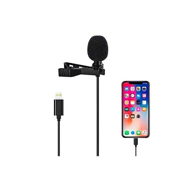 Microfone lapela para iphone  - Foto 3