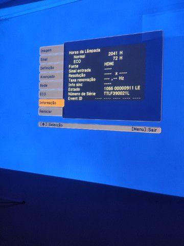 Projetor Epson Powerlite w18+ - Foto 6