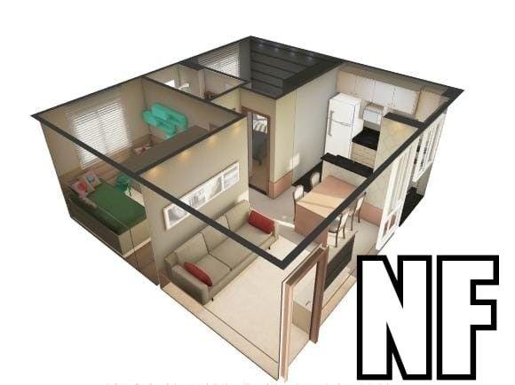 NF- Apartamento em Olinda bairro de Fragoso 2 quartos lazer completo  - Foto 5