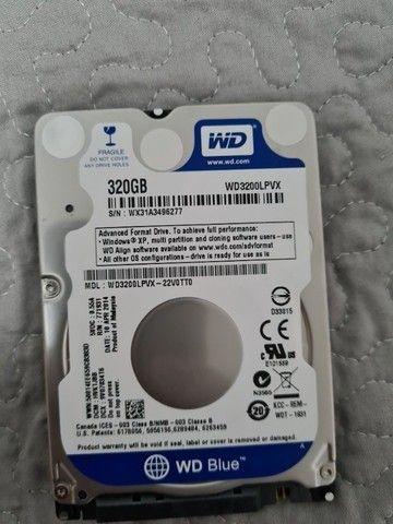 HD Western Digital, 320GB, 2.5´, Notebook, SATA