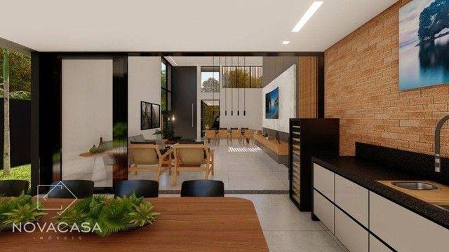 Casa com 4 dormitórios à venda, 318 m² por R$ 1.990.000,00 - Alphaville Lagoa dos Ingleses - Foto 9