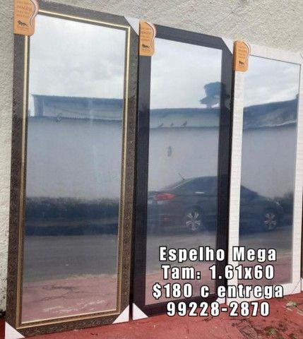 Espelho mega c entrega grátis - Foto 2