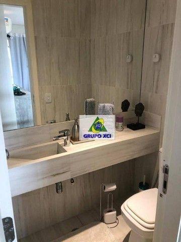 Apartamento com 3 dormitórios à venda, 137 m² por R$ 1.100.000,00 - Alphaville - Campinas/ - Foto 12