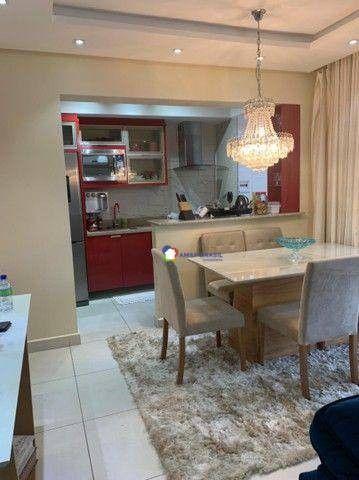 Apartamento com 3 dormitórios à venda, 92 m² por R$ 625.000,00 - Parque Amazônia - Goiânia