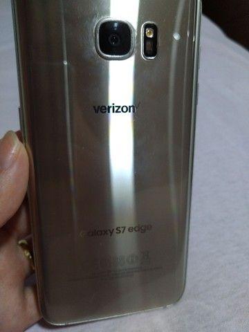 Samsung Galaxy S7 Edge 32 gb Prata - TELA QUEBRADA - Foto 3