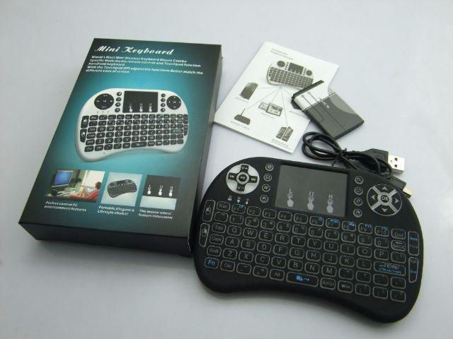 Mini teclado com mouse