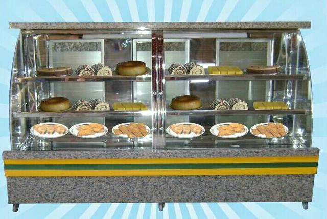 Fabricamos vitrine de padaria
