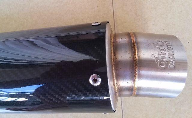 Ponteira Fibra De Carbono Cbr Hornet Srad R1 Xj6 Fazer Titan