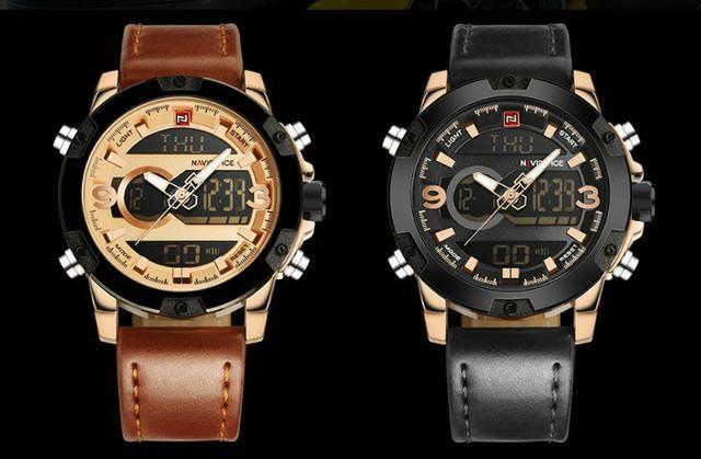 a6bfa12f316 Relógio Masculino Naviforce 9097 - Original - Pronta entrega - Novo ...