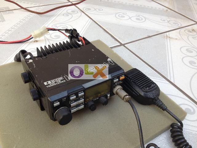 Rádio Icom VHF antigo todo original ok! preço super barato!