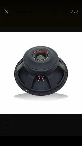 Par de alto falante de 15 oversound de 800 rms