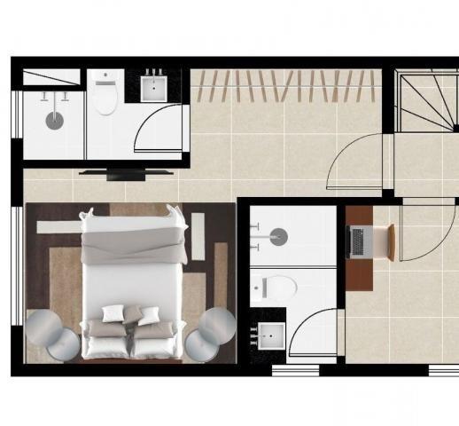 Área privativa à venda, 2 quartos, 2 vagas, barroca - belo horizonte/mg - Foto 7