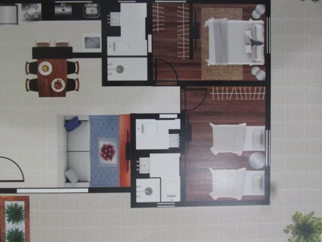 Área privativa à venda, 2 quartos, 2 vagas, barroca - belo horizonte/mg - Foto 2