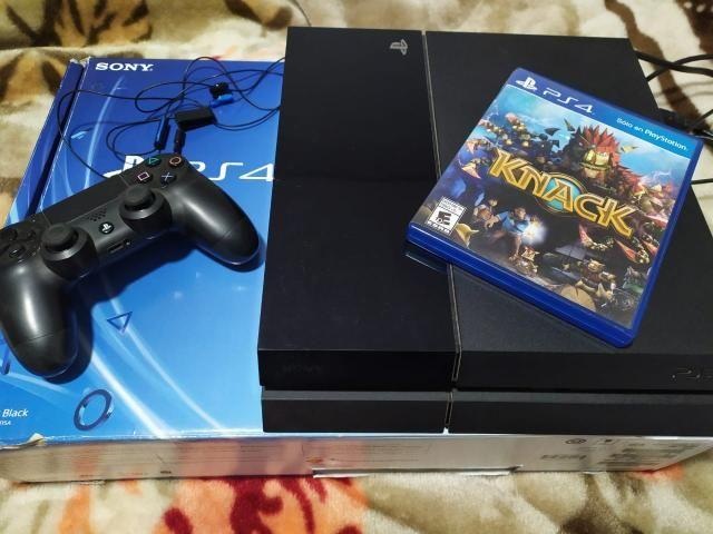 PS4 - usado + 1 jogo