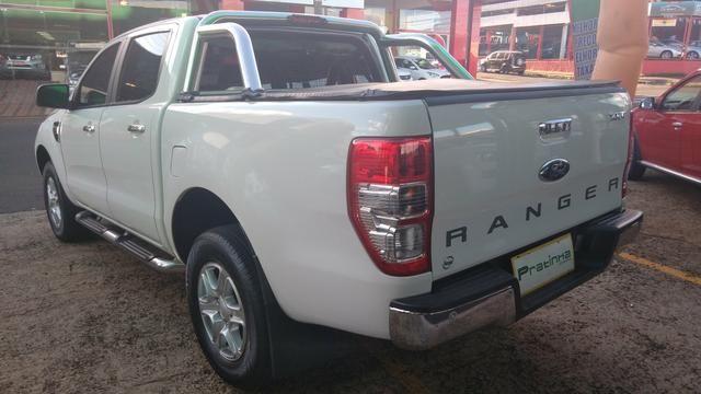 Ranger XLT Cd2 - 4x2 - 2.5 - Branca - Flex -2015- Completa !!! - Foto 5